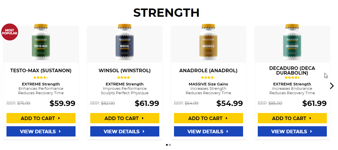 Anabolic steroids and weight loss